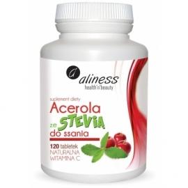Acerola ze Stevią do ssania 120 tabletek