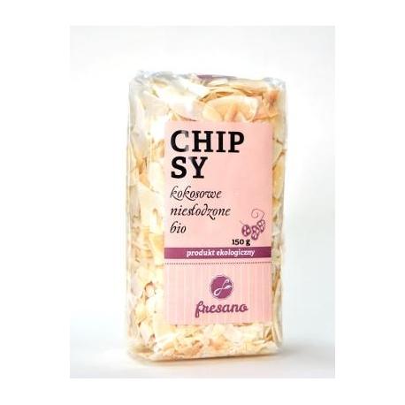 Chipsy kokosowe niesłodzone BIO 150 g