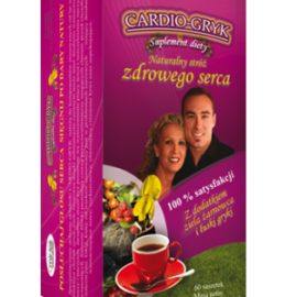 CARDIO GRYK 150g 60saszetek