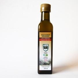OLEJ ARGANOWY KOSMETYCZNY - butelka szklana, ciemne szkło 250ml