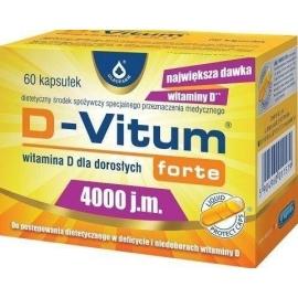 D-VITUM FORTE 4000 J.M. WIT.D 60 KAPS