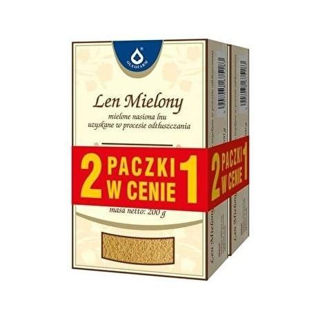 Len mielony 200g + 200g GRATIS!