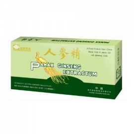Panax Ginseng Extract 2500 mg w ampułce.