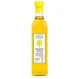 Olej rzepakowy 500 ml tłoczony na zimno nieoczyszczony
