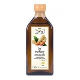 Olej arachidowy 250 ml tłoczony na zimno nieoczyszczony