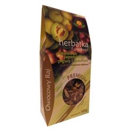 Herbata z owocami pigwowca japońskiego, pigwy i imbirem 100g