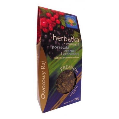 Herbata z owocami porzeczki czarnej i czerwonej