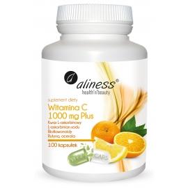 Witamina C 1000 mg Plus x 100 kaps VEGE