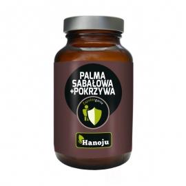 Palma Sabałowa ekstrakt 250mg + Pokrzywa ekstrakt 200mg, 90 kapsułek