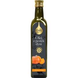 Olej z pestek dyni zimnotłoczony z witaminą D3 250 ml