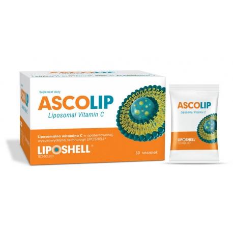 ASCOLIP Liposomal Vitamin C 30 saszetek 5 g