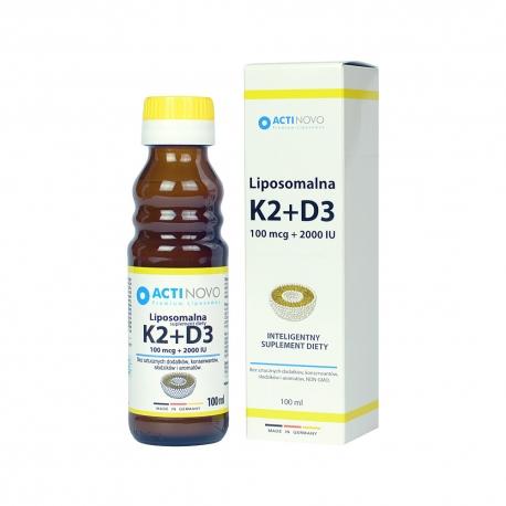 Witamina k2+d3 lipoosomalna 100ml
