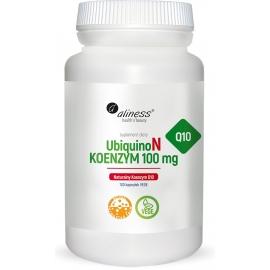 UbiquinoL Naturalny KOENZYM Q10 100mg x 100 Vege caps