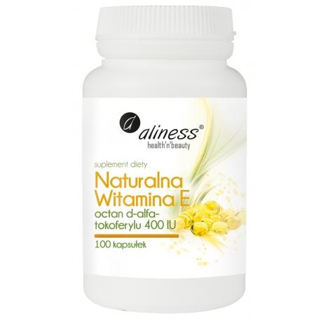Naturalna Witamina E, 100 kapsułek