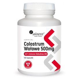 Colostrum Wołowe IG 40% 500 mg x 100 kaps.